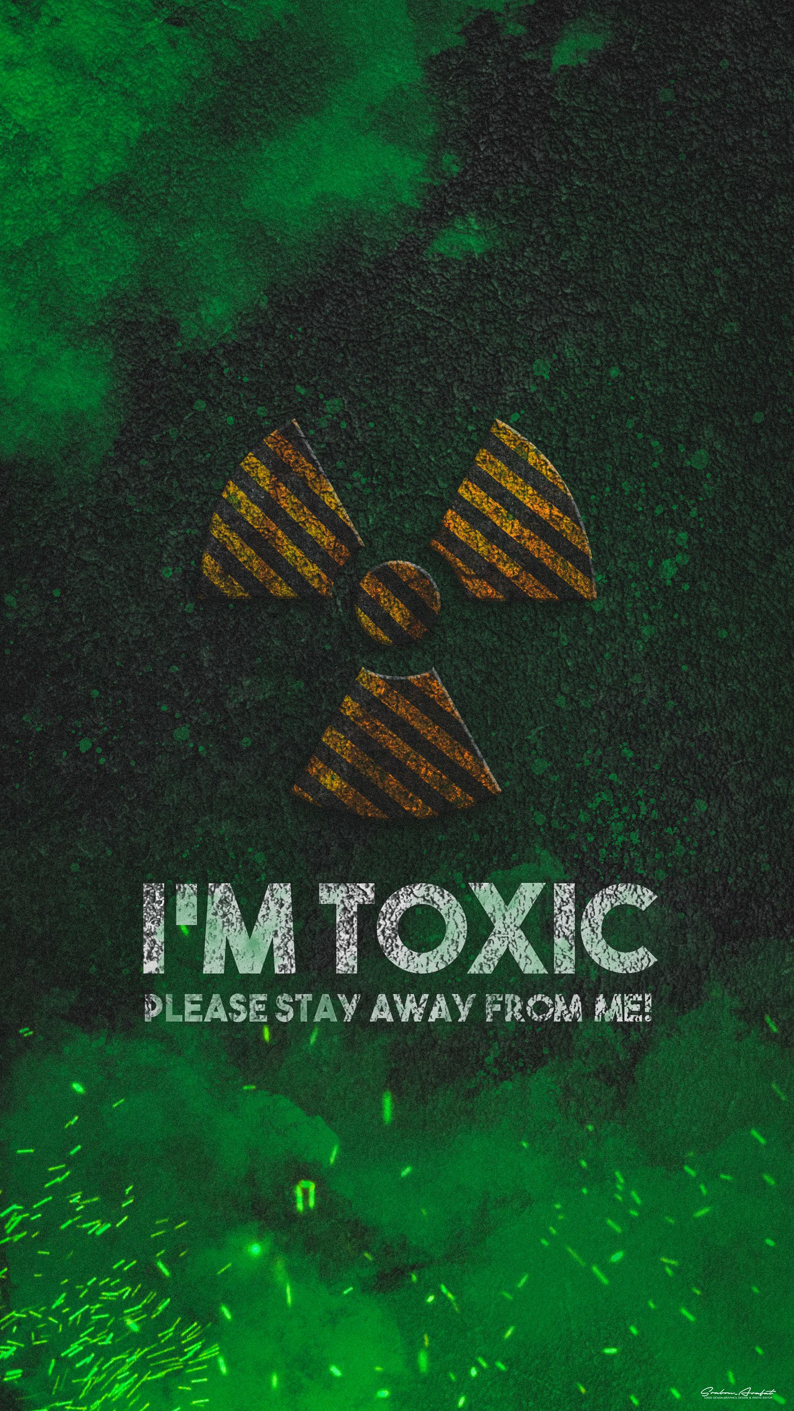 I M Toxic Iphone Wallpaper Cool Wallpapers For Your Phone Avengers Wallpaper