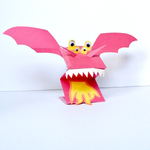 Are you looking for origami diagrammes? Do you want to know how to make  Origami Dragon? For the beginnig I'll … | Easy origami dragon, Origami  dragon, Origami horse | 640x640