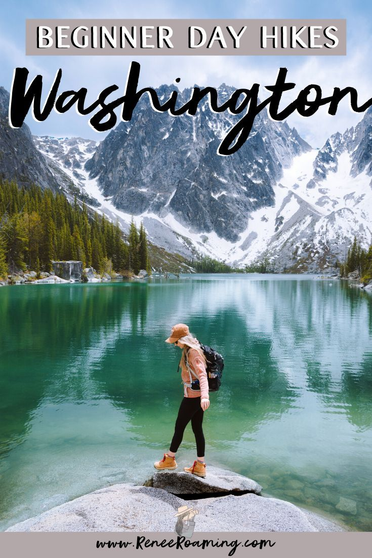 One of the questions I get asked most frequently is about my recommendations for Washington hikes. In particular, which trails I suggest for beginners. So I have put together this blog post featuring the 11 BEST beginner friendly hikes here in Washington state! In this article you will also find tips on how to plan hiking adventures, what to wear and pack on Washington hikes, and some trail etiquette tips. #WashingtonHikes #BeginnerHikes #Hiking #PNW #Washington via @reneeroaming