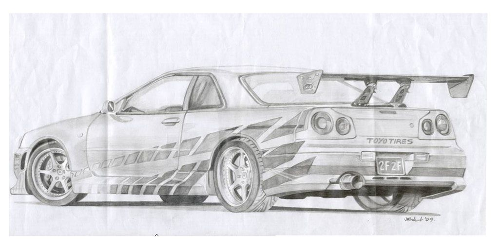 fast and furious cars drawings - Google Search | Vehicles/NASCAR ...