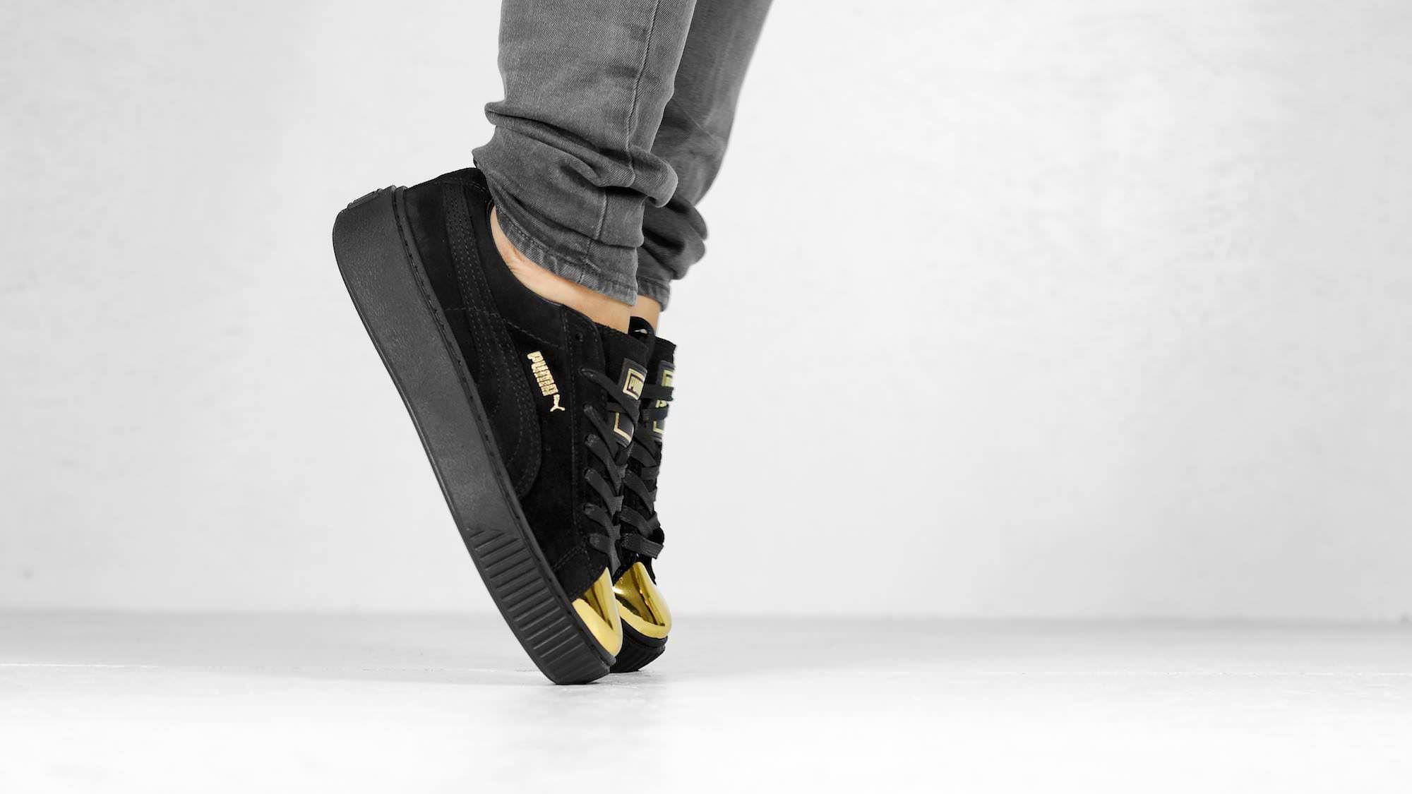 Puma Suede Platform Gold Toe Pack | | Puma