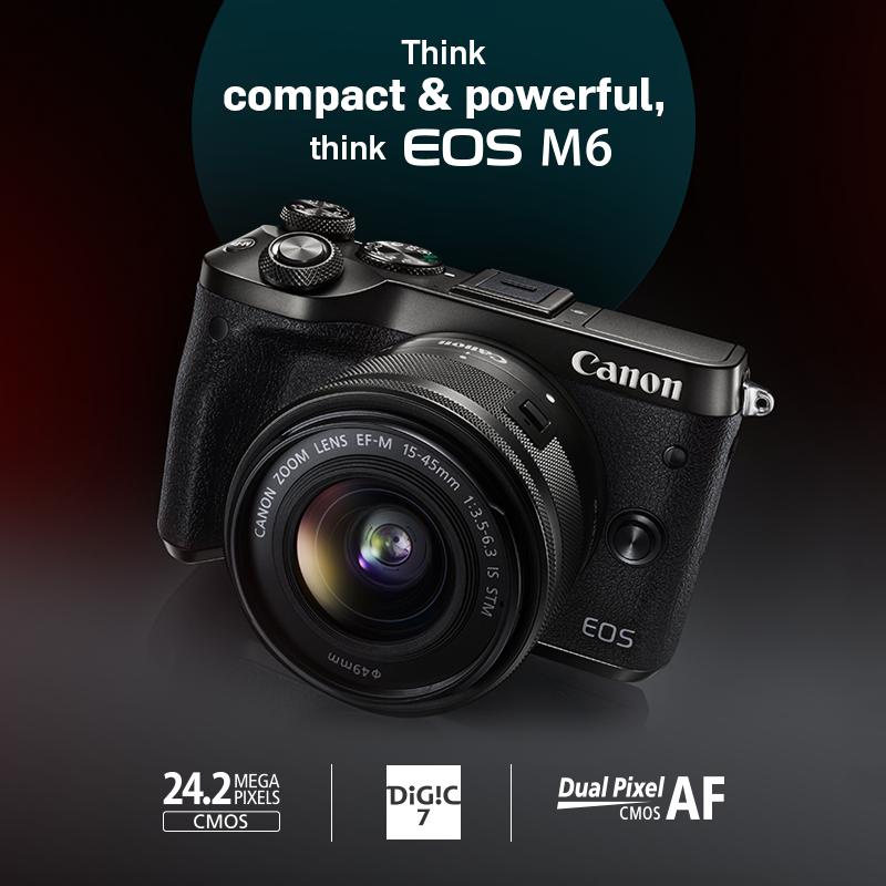 Canon EOS M6 Price in India on Flipkart, Amazon, Snapdeal | Canon ...