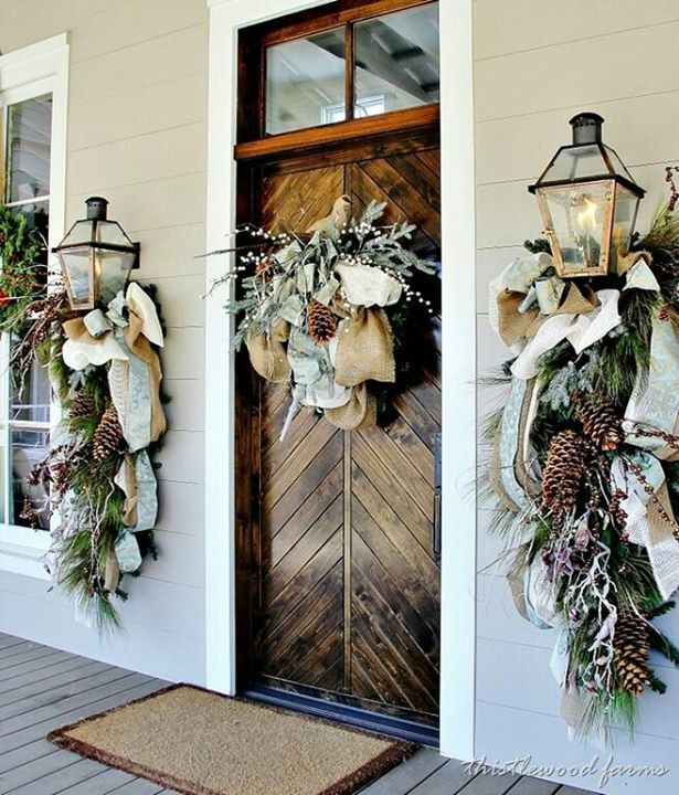 Beautiful Swags Home Decor/Crafts Pinterest Swag, Christmas