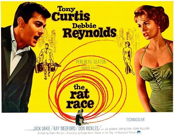 The Rat Race - 1960 - Movie Poster (con imágenes)