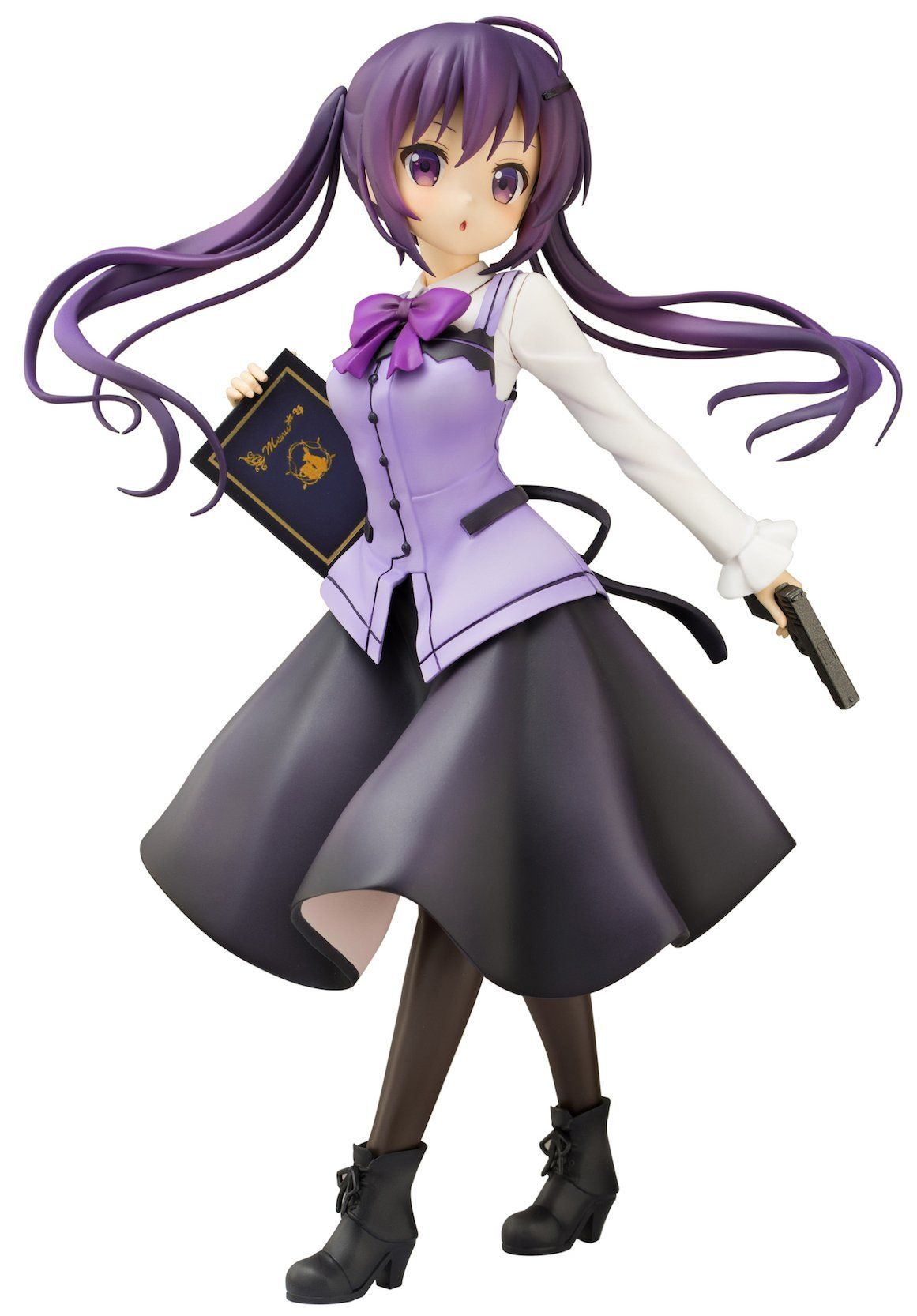 Plum Is the Order a Rabbit?? Rize Cafe Style 1/7 PVC