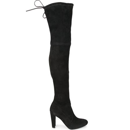 Far from being a fashion fad, the over-the-knee boot has now earned the accolade of 'wardrobe staple'. Thanks to Stuart Weitzman and some very famous friends (we're looking at you, Olivia Palermo), the style set has fallen for the flattering design, which elongates your legs whilst providing ultimate warmth in the winter months.