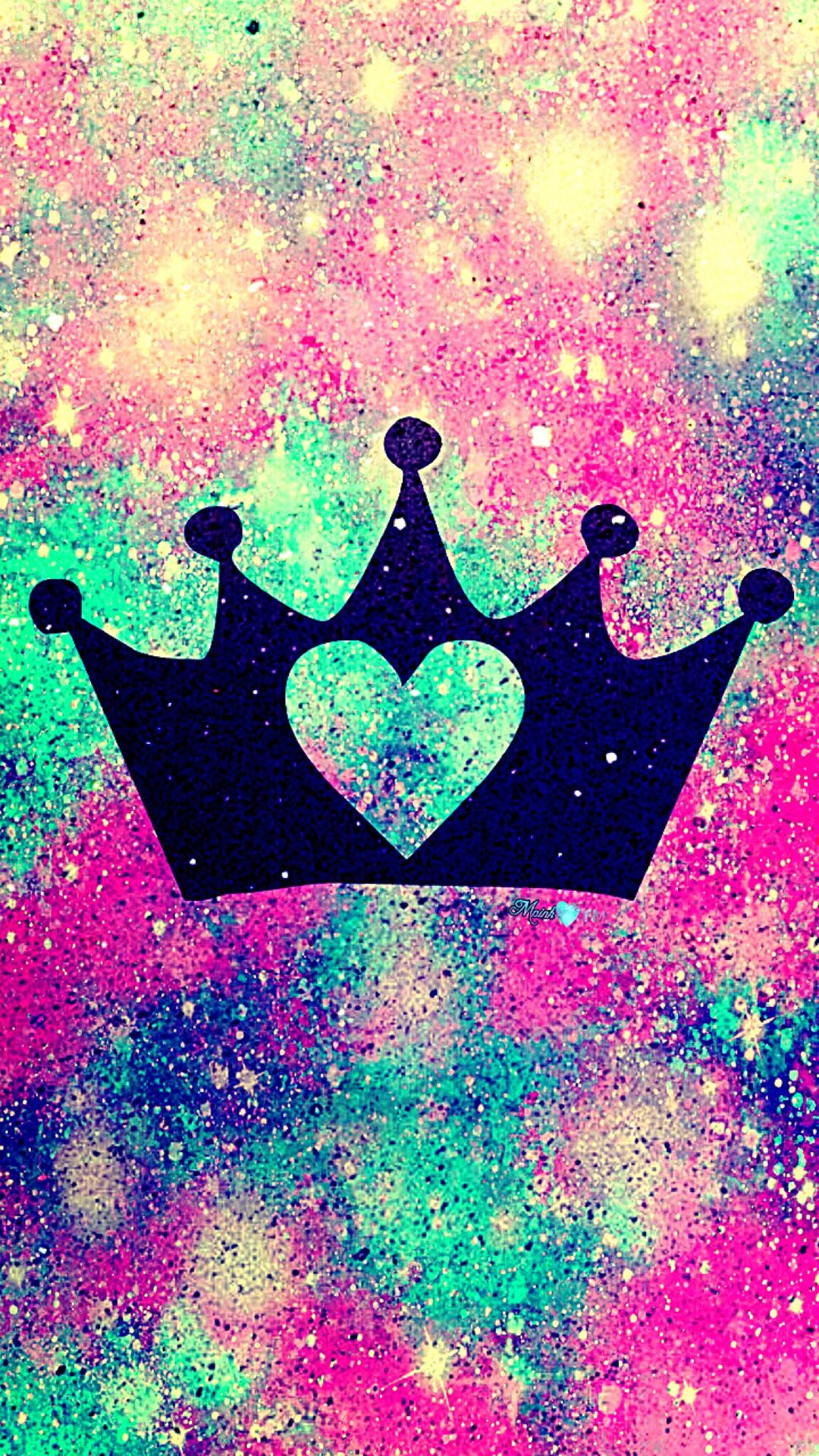 Heart Princess Galaxy Wallpaper Androidwallpaper