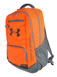 Under Armour Hustle Backpack Blaze (Hibbett exclusive) #backtoschool #hibbett #backpack