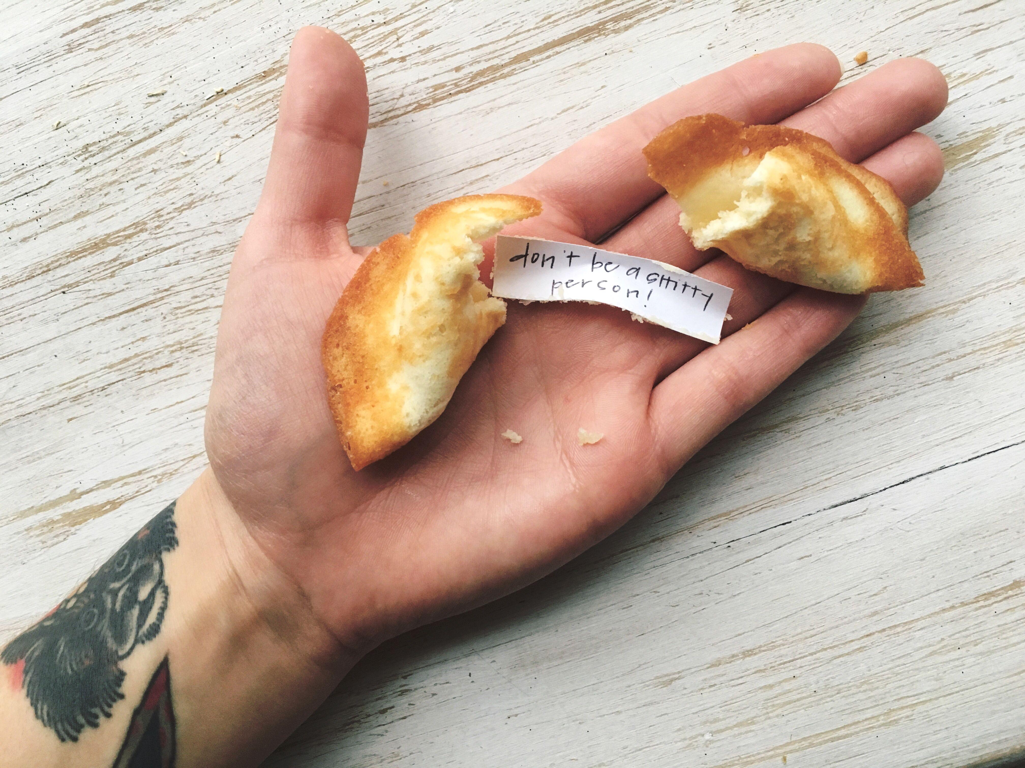 diy fortune cookies!