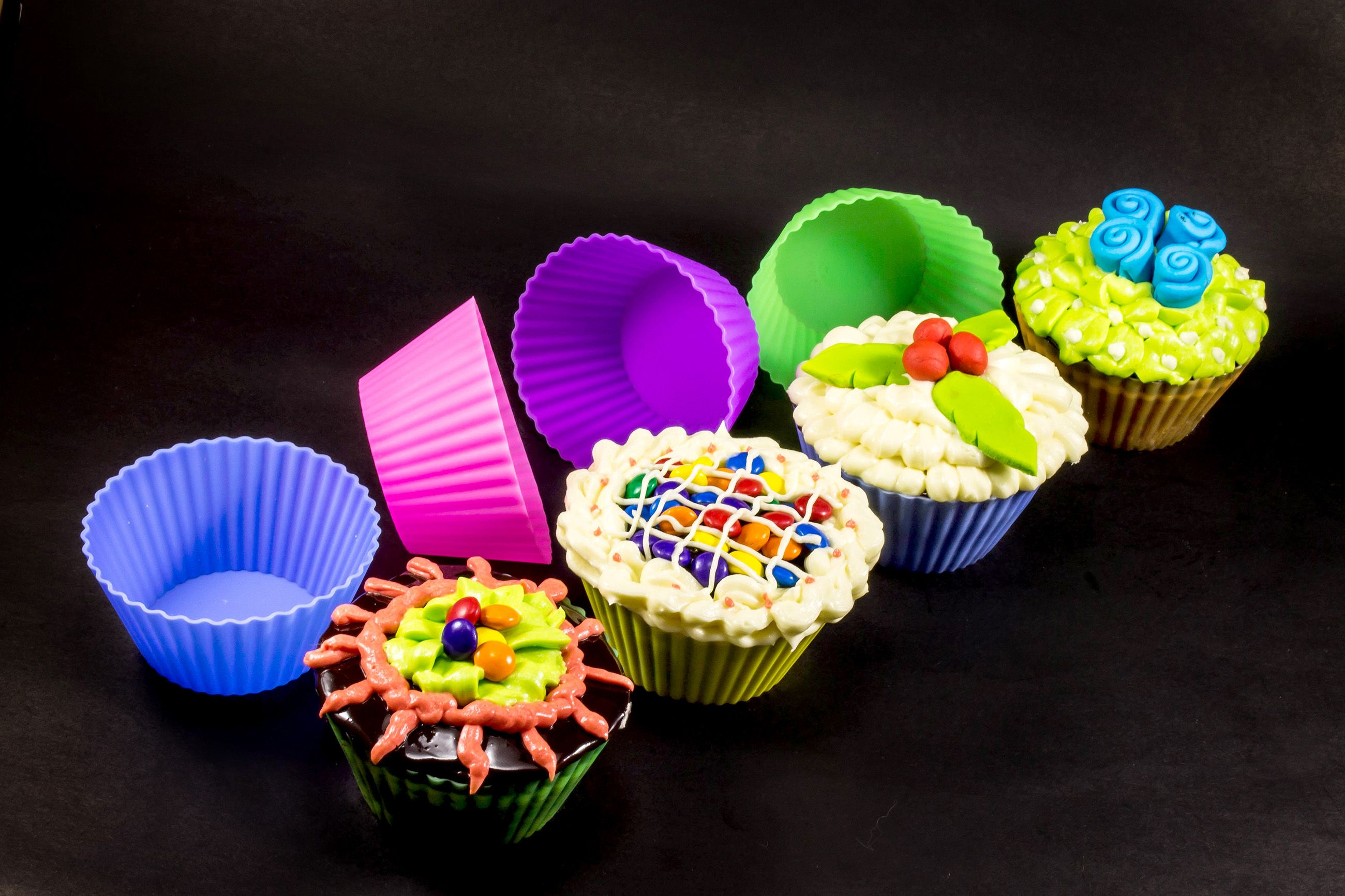 #baking_cups #silicone_baking_cups