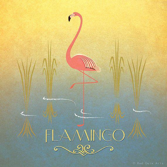 Hey, I found this really awesome Etsy listing at https://www.etsy.com/listing/197832139/flamingo-print-original-design-animal