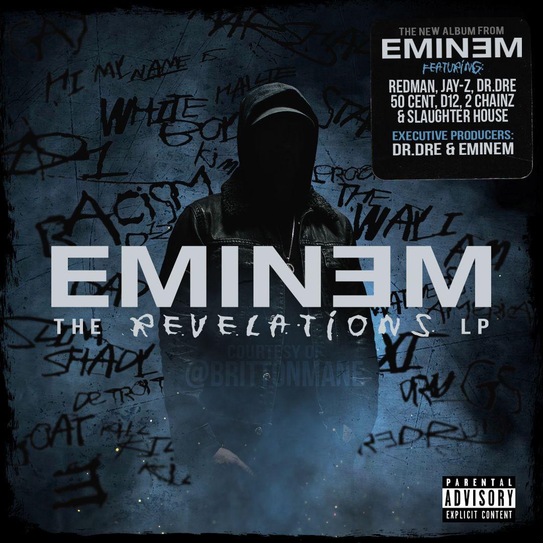 Eminem The Revelations Lp Cover art by IG: @BRITTONMANE