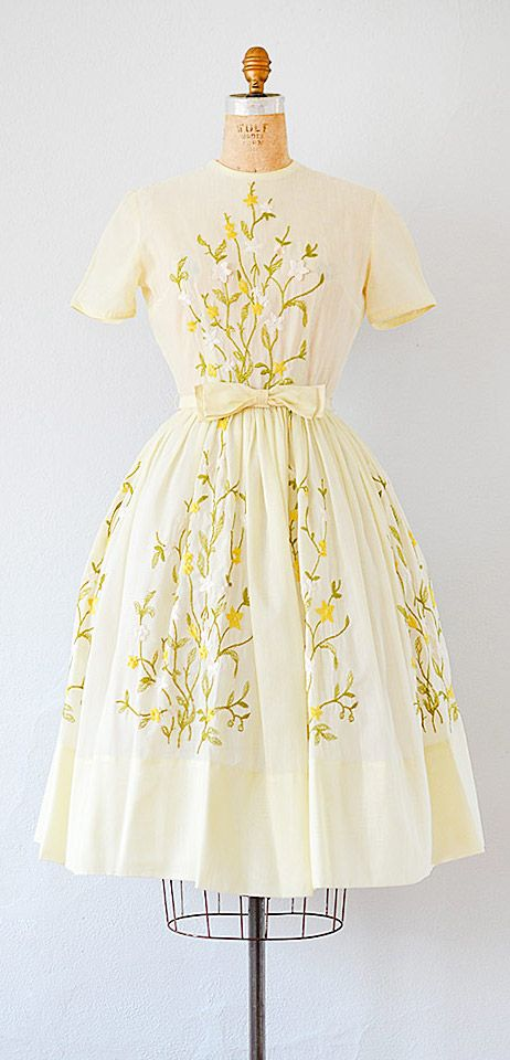 vintage 1950s dress | vintage 50s dress #vintage #1950s #50sdress ...