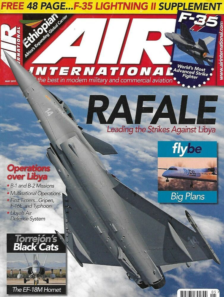 Air International Magazine Rafale F-35 Torrejon's Black Cats