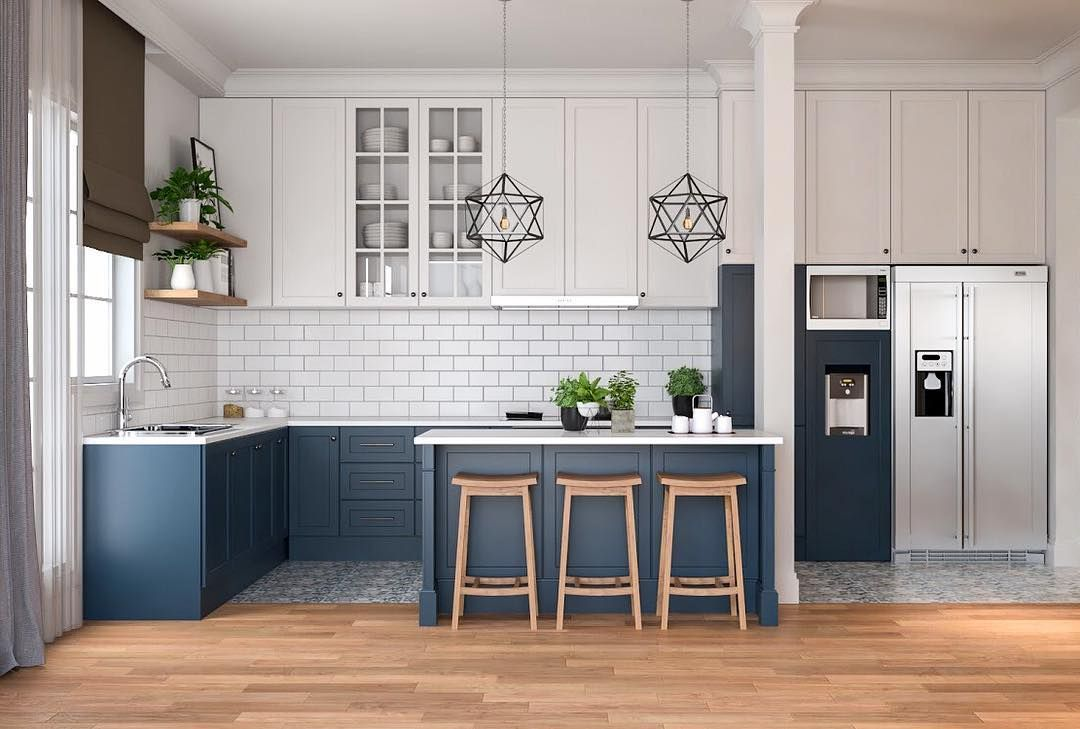 Model Kitchen Set Minimalis Dapur Kecil Sederhana Namun