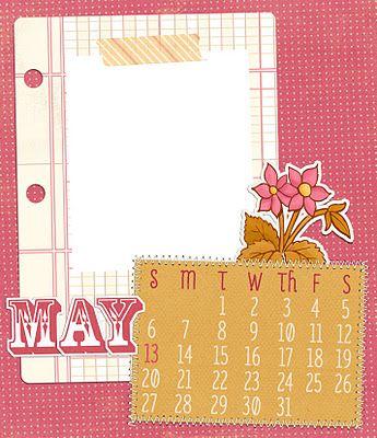 Design House Digital - 2012 Calendar Blog Hop - May