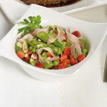 Spargel-Schinken-Salat