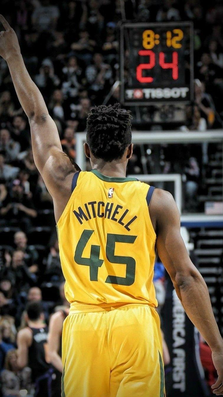 4de49c7d775 Donovan Mitchell Wallpaper. Donovan Mitchell Wallpaper Jazz Basketball ...