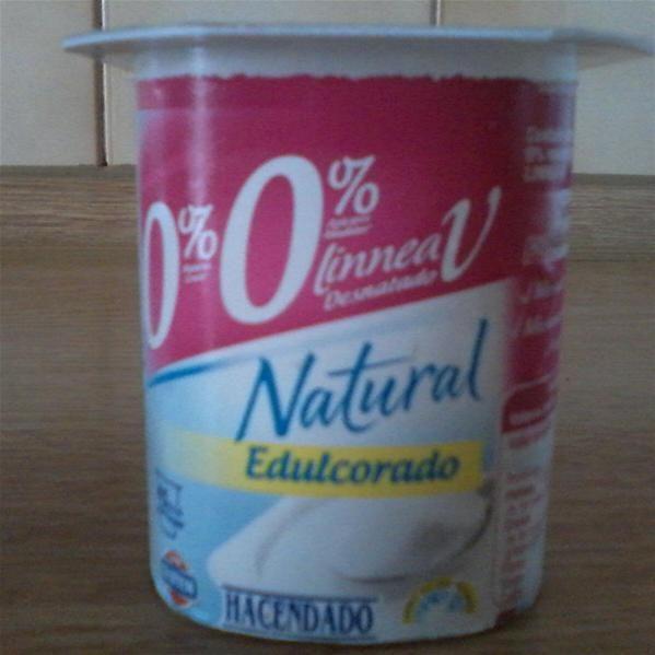 Yogur Natural Edulcorado 0 0 Linnea V Desnatado Hacendado