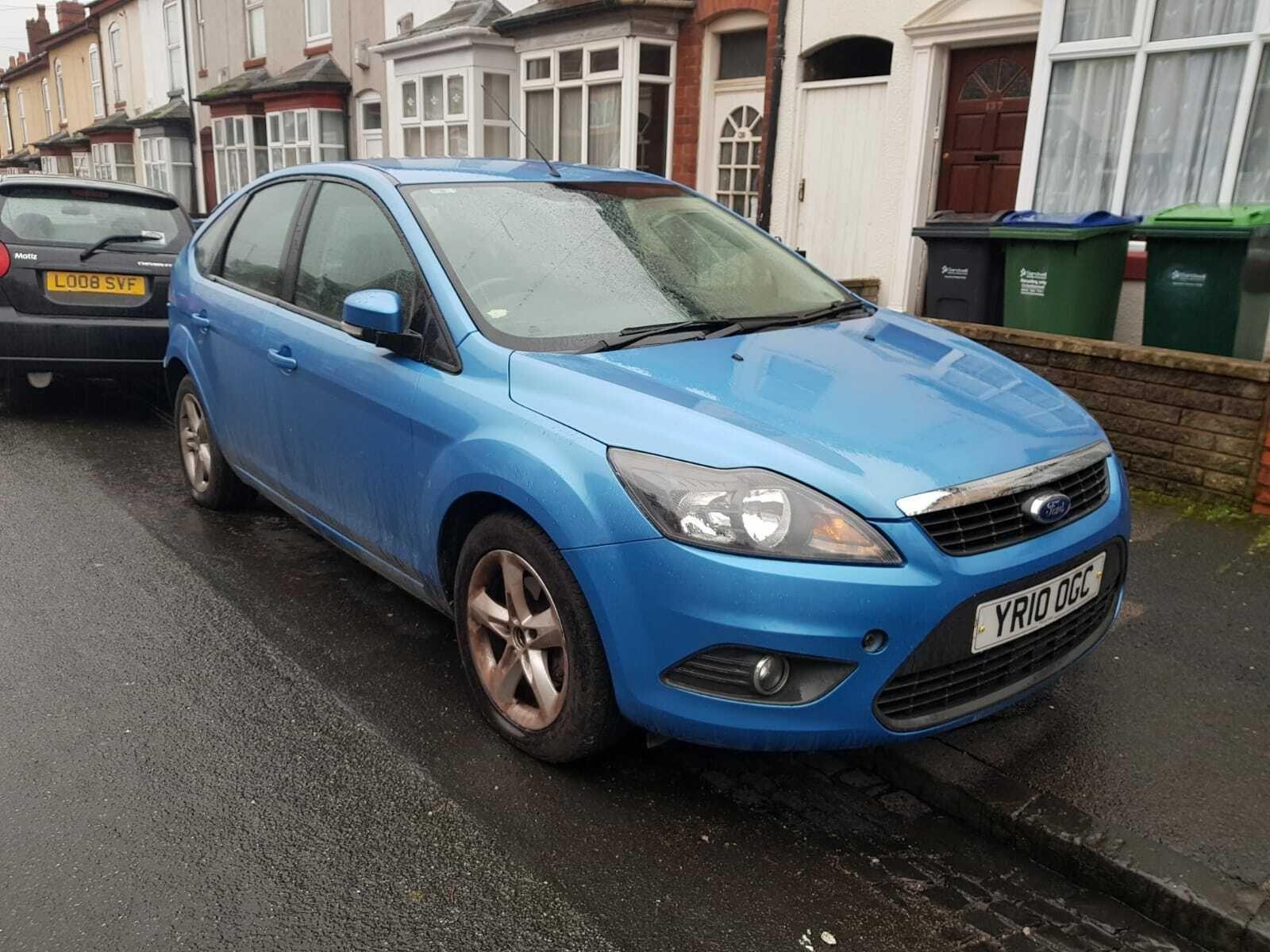 2010 Ford Focus Zetec 1.6 Tdci Manual Turbo Diesel £30 Road Tax -  Mot · $640.00