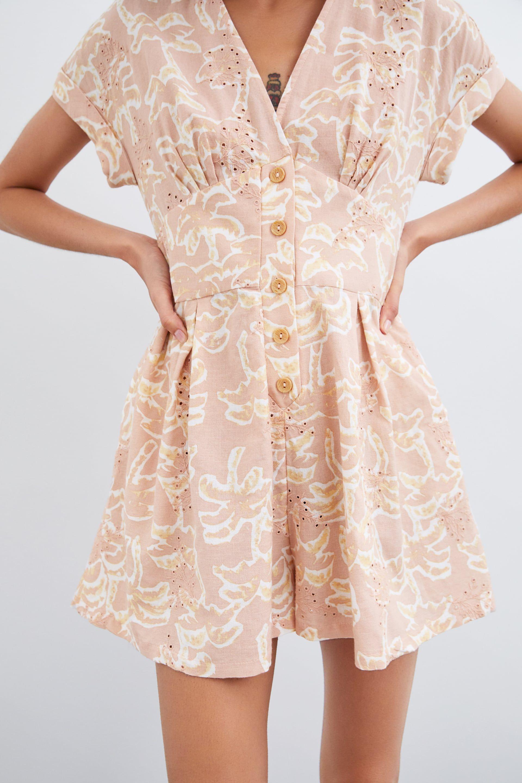 3c60404b51c PRINTED RUSTIC JUMPSUIT - DRESSES-TRF