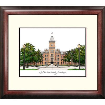 Campus Images NCAA Ohio State University Framed Photographic Print