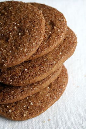 ginger snaps from the kitchen of chez panisse. made these and they are delicious and easy to prepare!