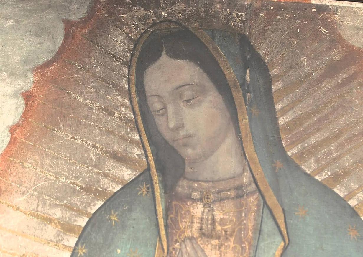 parte superior Virgen aficionado
