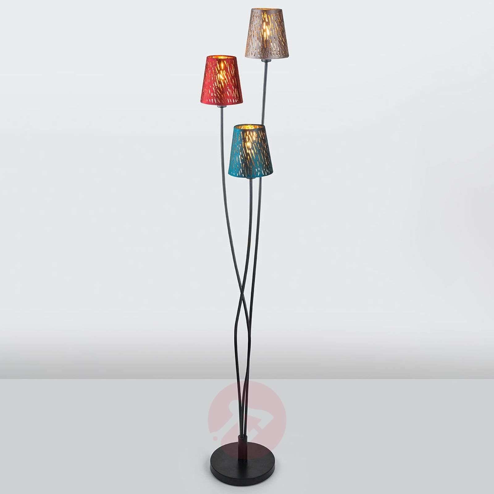 lampy stojące z motywem