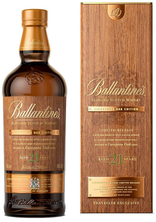 Ballantine S Launch First Of Two Travel Retail Exclusive
