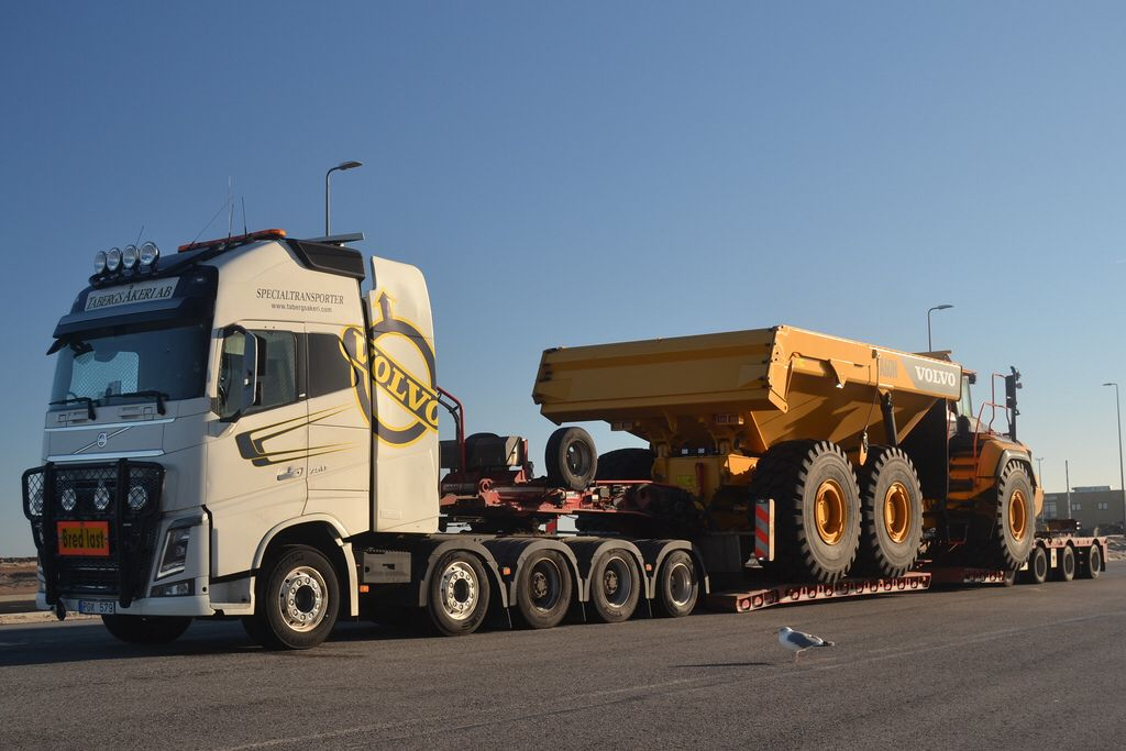 Volvo Fh16 750 Tabergs Akeri Ab Specialtransporter S Pok 579 Volvo Trucks Heavy Duty Trucks