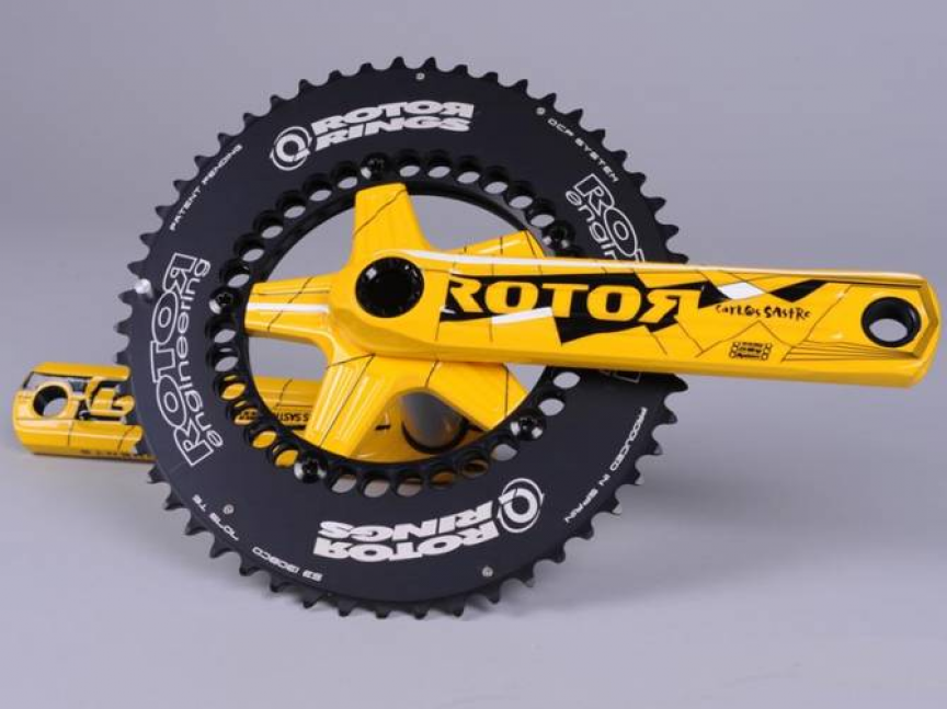 ... celebration of his ԰8 tour de france victory on q-rings, rotor