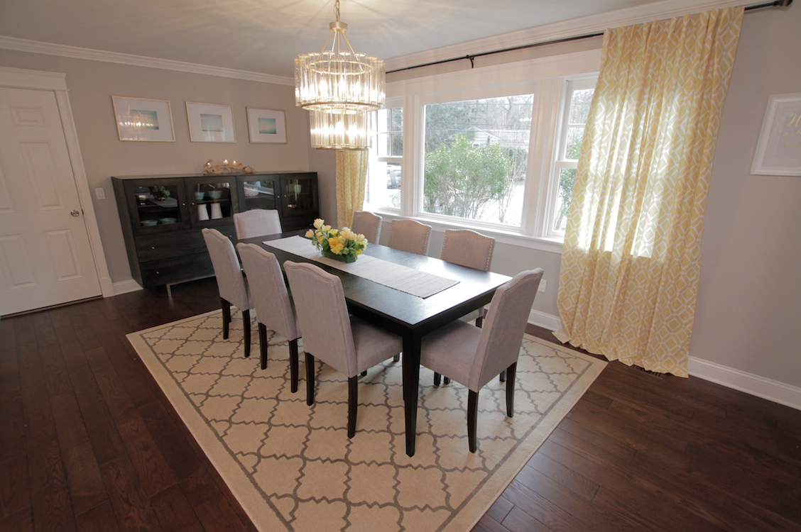 Savoy House Belmont Chandelier SKU In Angela And Ros Dining Room From Property Brothers