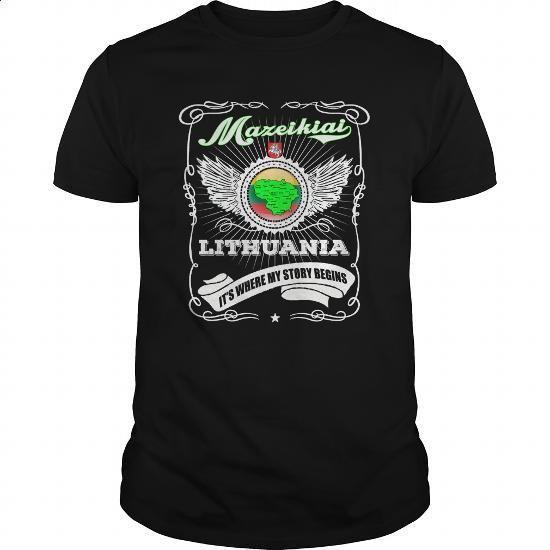 Mazeikiai-Lithuania - #jean skirt #personalized sweatshirts. SIMILAR ITEMS => https://www.sunfrog.com/LifeStyle/Mazeikiai-Lithuania-Black-Guys.html?id=60505