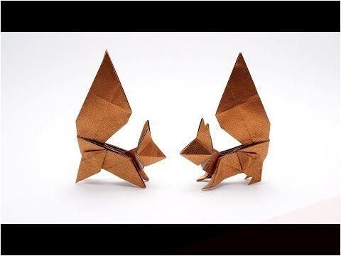 Photo of ORIGAMI SQUIRREL (Oriol Esteve) #origami