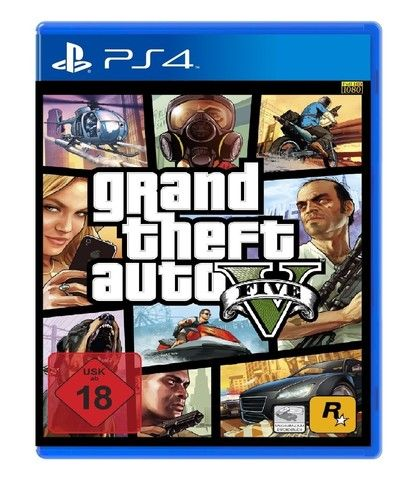 Gta 5 Ps4 And Xbox One Box Arts Revealed By Online Retailer
