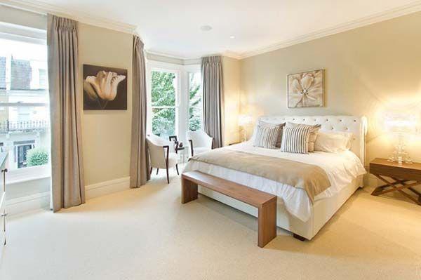 15 Fotos E Ideas Para Pintar Un Dormitorio Color Beige Mil Ideas De Decoracion Bedroom Design Grey Bedroom Decor Beige Walls