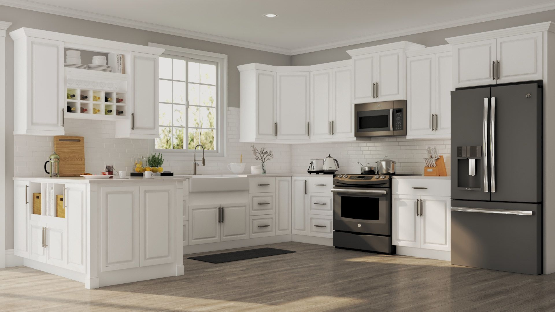 Best Magnificent White Kitchen Cabinets Ideas Home Depot 400 x 300