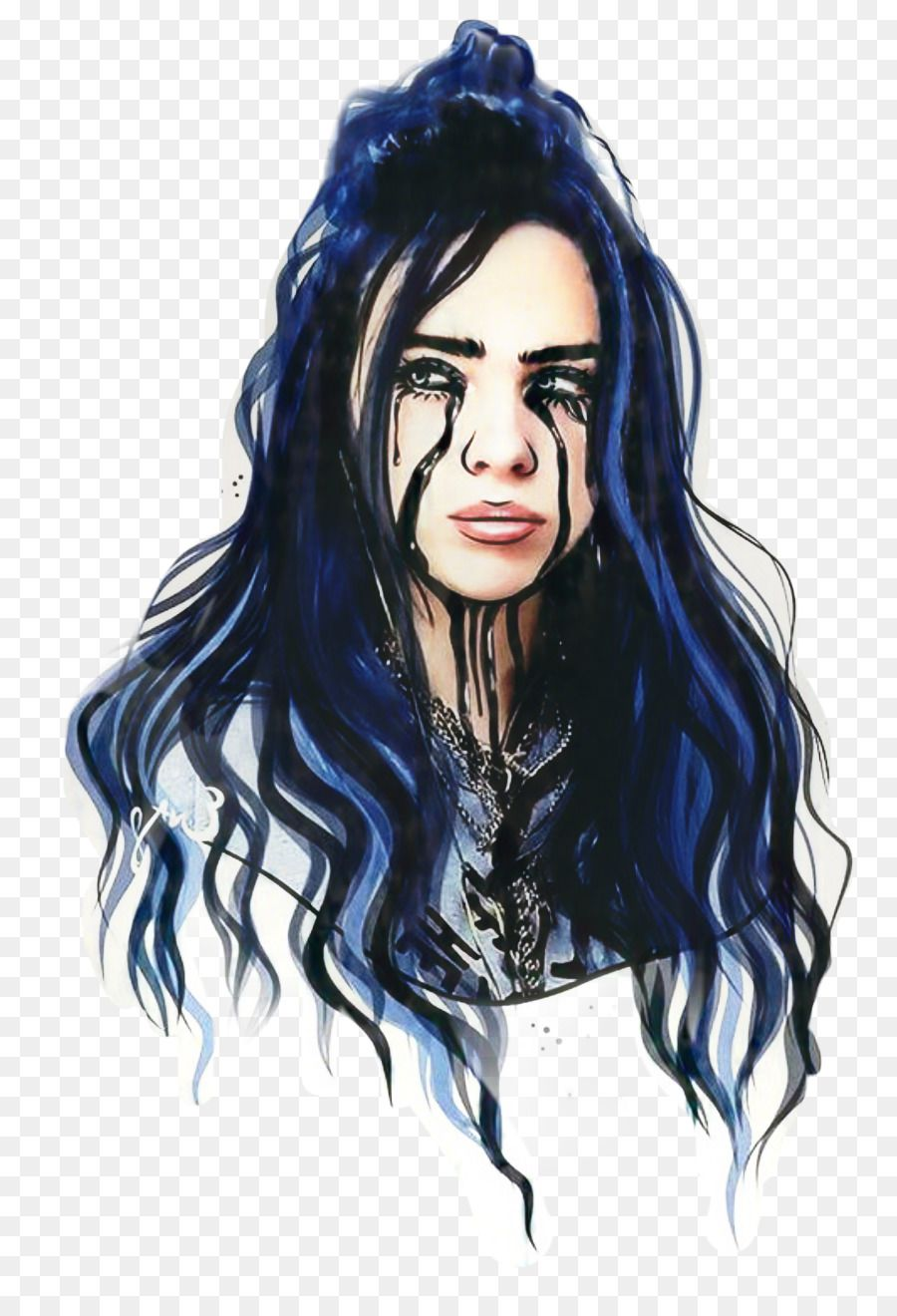 Billie Eilish Desktop Wallpaper Drawing Aesthetics Music Png Drawings Billie Eilish Billie