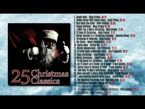 25 most popular christmas songs