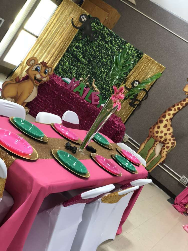 Safari Birthday Party Ideas | Photo 1 of 22 | Catch My Party #safaribirthdayparty