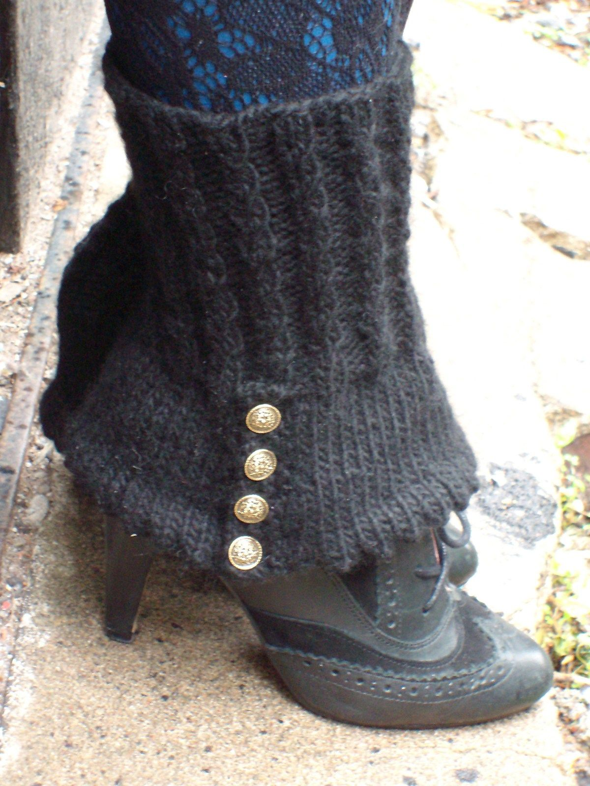 Steampunk And Victoriana Knitting Patterns Footwear