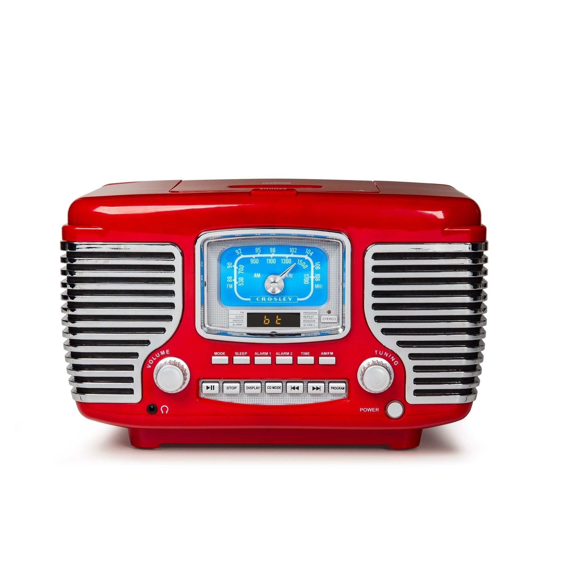 Overstock Com Online Shopping Bedding Furniture Electronics Jewelry Clothing More Retro Radios Radio Alarm Clock Crosley Radio