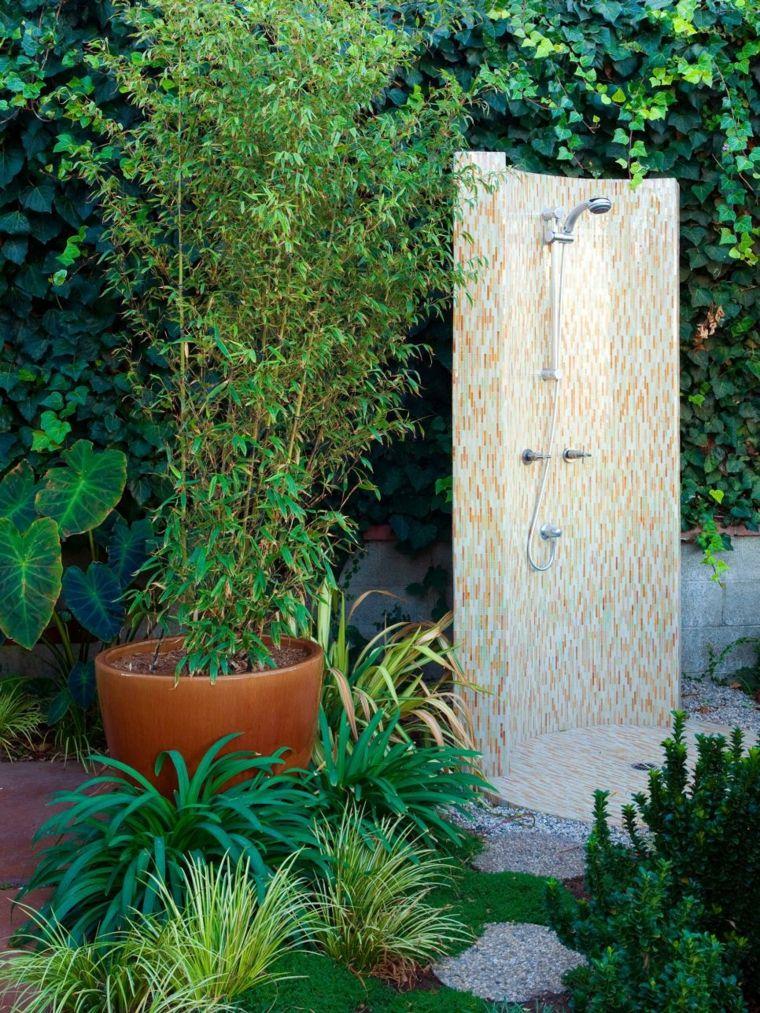 Ducha diseño y soluciones increíbles para los jardines | Macetas ...