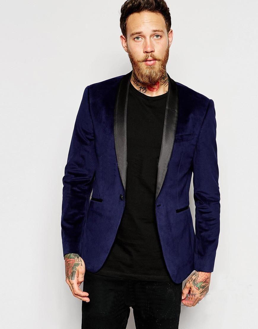 Royal Blue Velvet Tuxedo Coat Men/'s Suit Slim Fit 40r 42r 44r 46r 46l 48l Custom