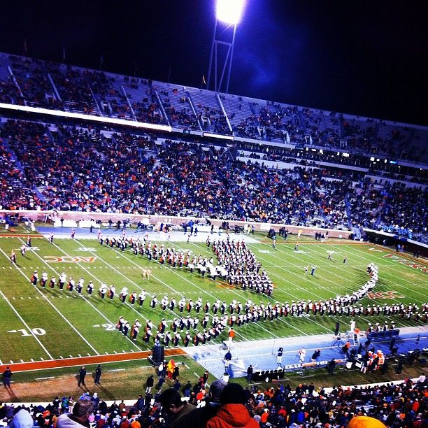 UVa football v. UNC University of virginia, Virginia