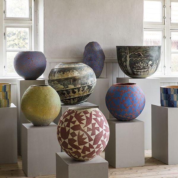 fulby keramik UNIKA | Hans og Birgitte Börjeson | Fulby Keramik | SorøHans og  fulby keramik