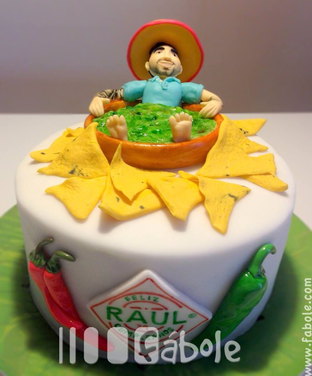 Mexican food lover cake topper made in fondant fabole cake mexican food lover cake topper made in fondant biocorpaavc Images