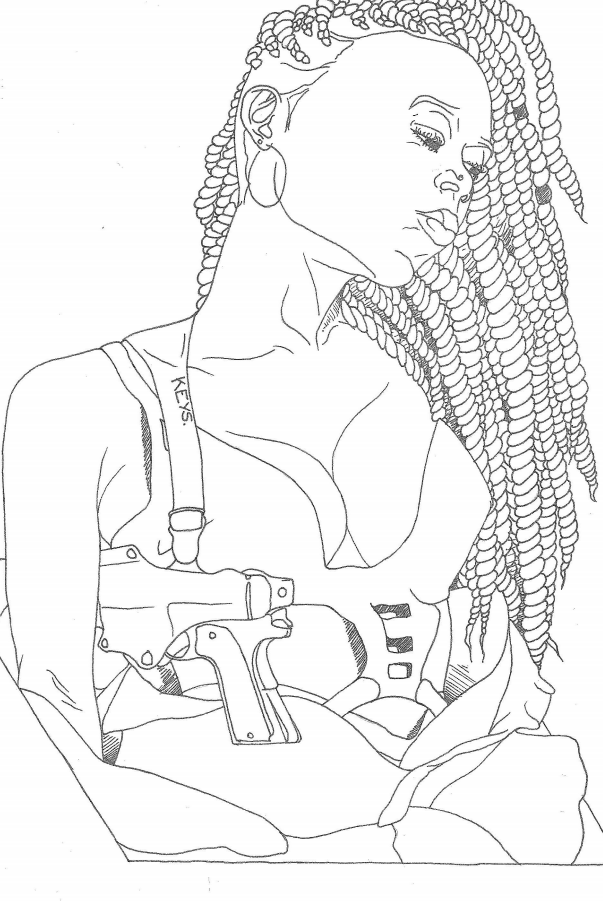 the afro feminist coloring book you didn t know you wanted - Girls Coloring Book