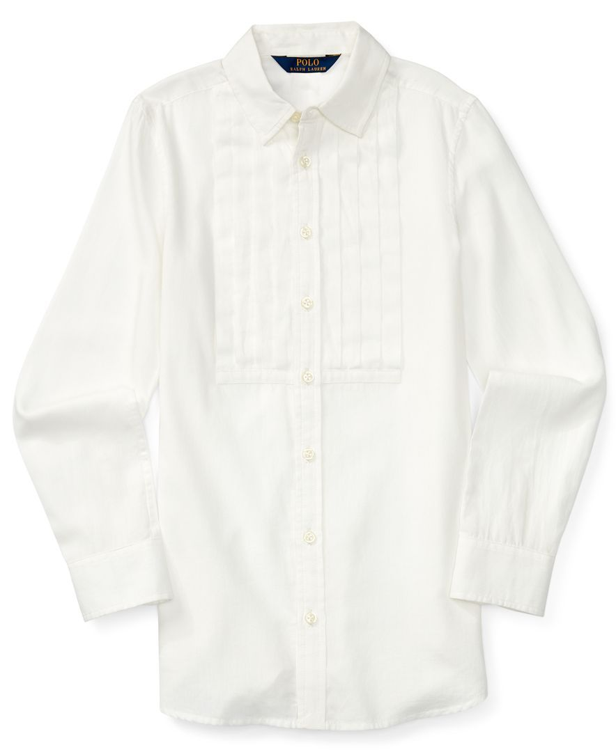 Ralph Lauren Little Girls  Pintucked Tunic   MODE SKJOTE ALM SKJOTE ... c5ce5eee9f